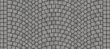 Textura curvada estrada 012 da pedra ilustração royalty free