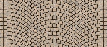Textura curvada estrada 011 da pedra Fotos de Stock