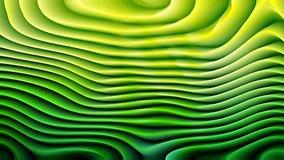 Textura curvada verde oscuro del fondo del extracto ilustración del vector