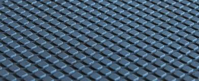 Textura 3D azul Fotografia de Stock