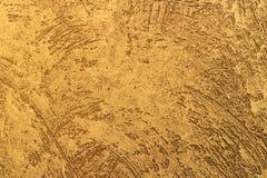 textura 3D del color oro Imagenes de archivo