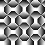 Textura 3d geométrica regular do vetor Teste padrão sem emenda do inclinação Fotos de Stock