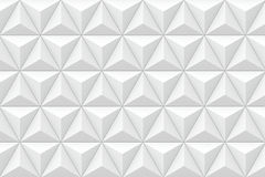 textura 3D triangular geométrica Fotos de Stock Royalty Free
