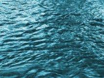 Textura da água foto de stock