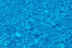 Textura da água da piscina Imagens de Stock Royalty Free