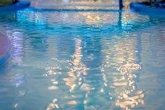Textura da água da superfície do fole imagens de stock royalty free