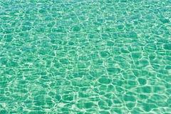 Textura da água de mar Fotos de Stock