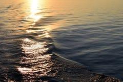 Textura da água do mar foto de stock royalty free