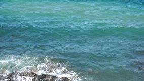 Textura da água do mar e das ondas azuis vídeos de arquivo