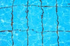 A textura da água na associação Foto de Stock Royalty Free