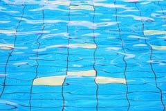 A textura da água na associação Fotografia de Stock Royalty Free