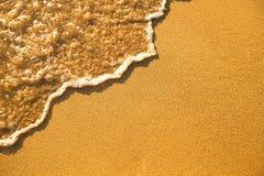 Textura da areia da praia Imagem de Stock Royalty Free