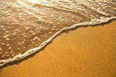Textura da areia da praia Imagens de Stock