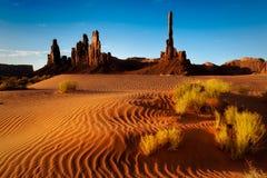 Textura da areia do vale do monumento Imagens de Stock
