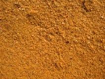 Textura da areia na luz morna Foto de Stock Royalty Free