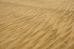 Textura da areia na praia Fotografia de Stock Royalty Free