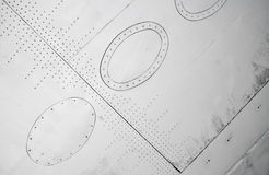 Textura da asa do plano branco imagem de stock royalty free