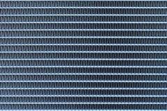 Textura da bobina de evaporador do condicionador de ar em um carro fotos de stock royalty free