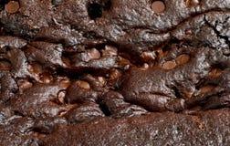 Textura da brownie Imagens de Stock