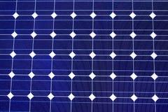 Textura da célula solar Fotografia de Stock Royalty Free
