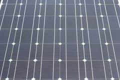 Textura da célula solar do close up Imagens de Stock Royalty Free