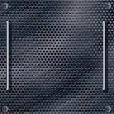 Textura da caixa do metal Foto de Stock Royalty Free