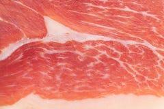 Textura da carne fresca Fotografia de Stock