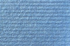 Textura da celulose Celulose azul fotografia de stock