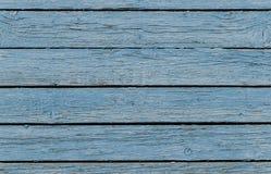 Textura da cerca azul áspera velha Imagens de Stock Royalty Free