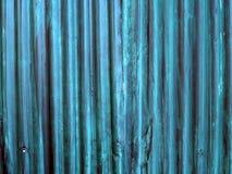 Textura da cerca do zinco Fotos de Stock