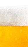Textura da cerveja Fotos de Stock Royalty Free