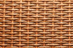Textura da cesta Imagens de Stock