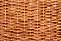 Textura da cesta de vime Imagem de Stock