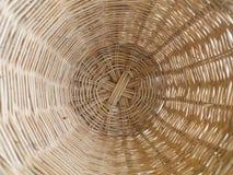 Textura da cesta de vime Fotos de Stock Royalty Free