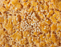 Textura da cookie Imagens de Stock