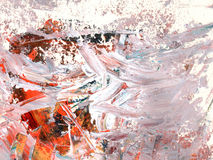 Textura da cor da pintura a óleo Fotografia de Stock