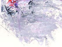 Textura da cor da pintura a óleo Fotos de Stock