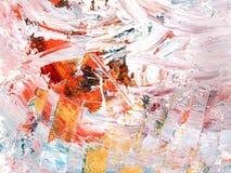 Textura da cor da pintura a óleo Imagem de Stock