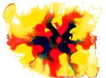 Textura da cor de água Foto de Stock Royalty Free
