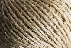 Textura da corda da palha Imagens de Stock