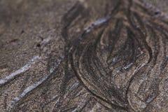 Textura da corrosão de solo foto de stock