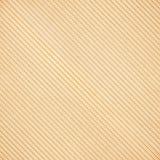 Textura da diagonal do cartão ondulado de Brown foto de stock