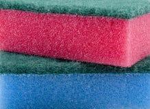 Textura da esponja Fotografia de Stock