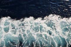 Textura da espuma da água de mar Imagem de Stock