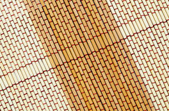 Textura da esteira da palha Imagens de Stock Royalty Free