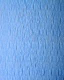 Textura da esteira de borracha azul Fotografia de Stock