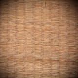 Textura da esteira de Tatami Imagem de Stock