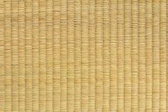 Textura da esteira do Weave Fotografia de Stock