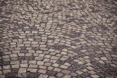 Textura da estrada da pedra Imagem de Stock
