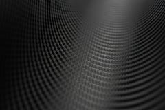 Textura da etiqueta da fibra do carbono Material preto luxuoso Foto de Stock Royalty Free
